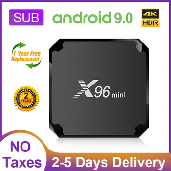 X96 Mini Smart TV Box Android 9.0 1G 8G/2G 16G S905W Quad Core 2.4 G Wifi X96mini 4K SUB Full HD Android TV box